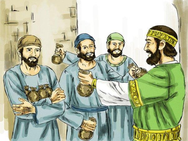 Mateus 25, 14-30 Os-Talentos